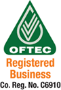Oftec Registered Business. Co. No. C6910